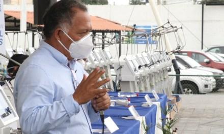 Prefectura de El Oro equipa a hospitales con 40 respiradores artificiales