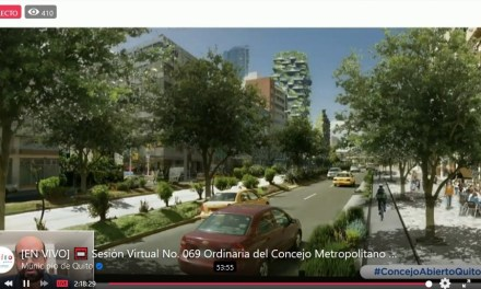 Concejo conoció sobre el uso y ocupación del espacio público por el cambio de semáforo