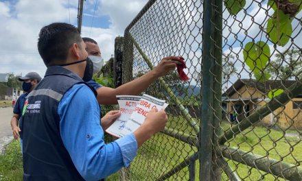 Gobierno Provincial suspende actividades productivas por mal manejo de residuos