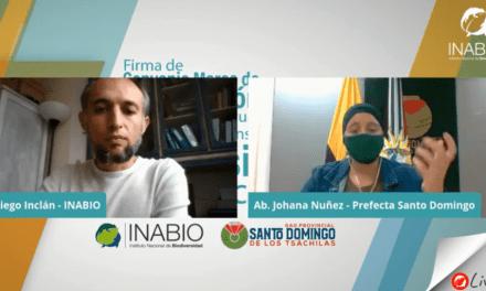 INABIO y el GAD de Santo Domingo firman Convenio de Cooperación