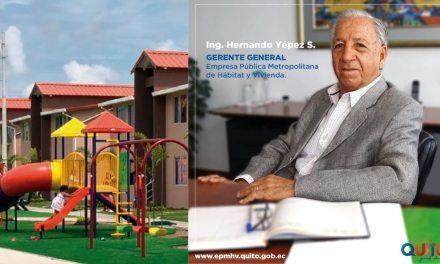 Hernando Yépez Sevilla es el nuevo gerente general de la Empresa de Vivienda