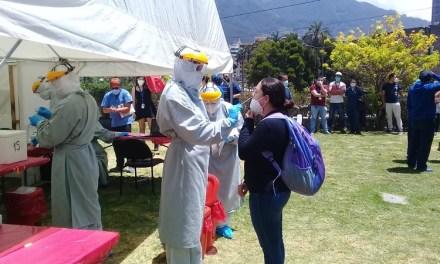 Municipio de Quito realiza pruebas covid-19 al personal de la salud