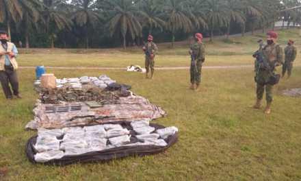 Encuentran armamento y pertrechos presuntamente utilizados por grupos ilegales armados