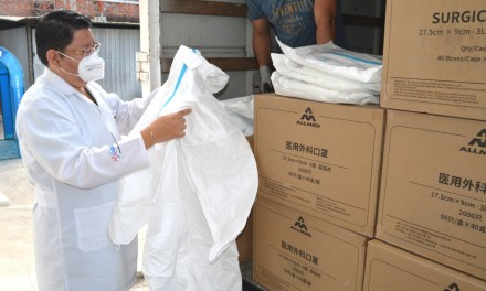 MSP entrega prendas de protección al Hospital Teófilo Dávila de machala
