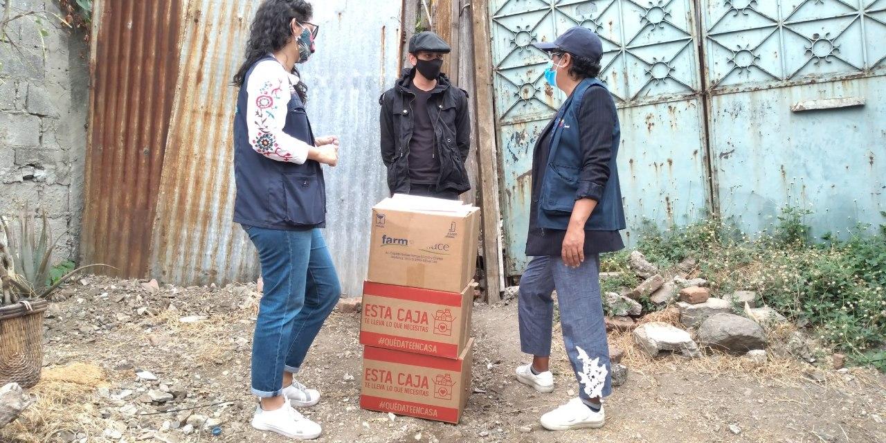 Familias afectadas por siniestros en Guayaquil y Durán reciben ayuda