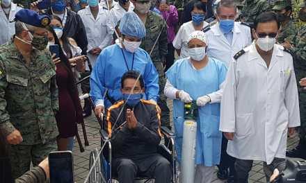 Médico del Hospital militar superó el COVID, tras 46 días en la UCI