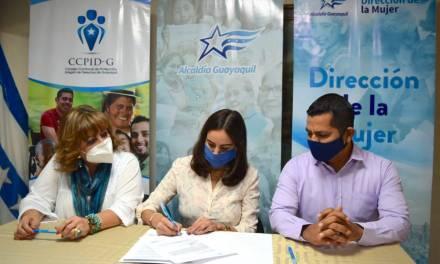 Convenio para proteger a las mujeres víctimas de violencia en Guayaquil