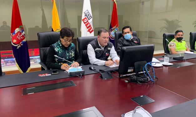 33 cantones del Ecuador afectadas por la caída de ceniza del volcán Sangay