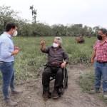 Gobierno ofrece diferir créditos a los productores afectados por la ceniza