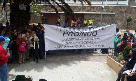 perjudicados PROINCO piden a Lenin Moreno no dar paso al indulto para Santiago Ribadeneira