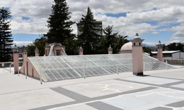 IMP recuperó la cubierta del Palacio de La Circasiana