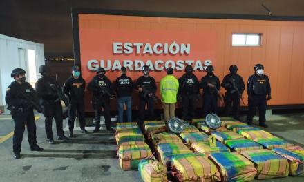 Policía de Ecuador desmanteló una banda dedicada al tráfico internacional de drogas