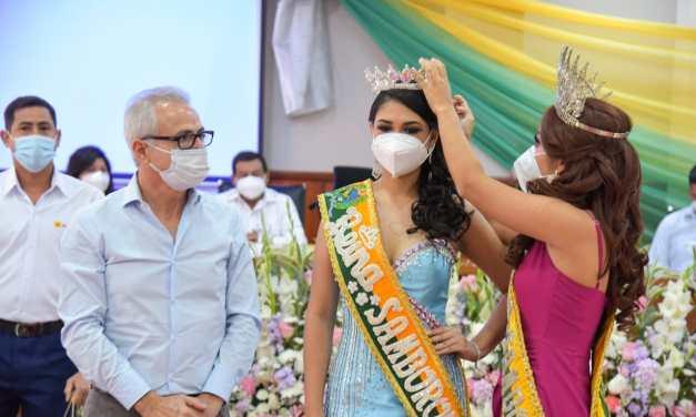 Jenniffer Quinto fue coronada como reina del cantón Samborondón