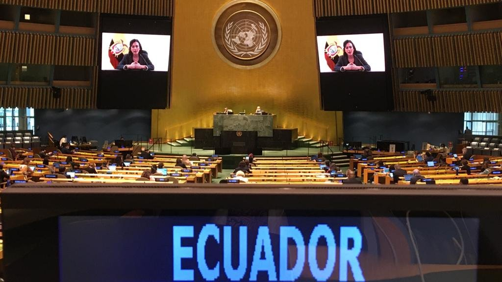Vicepresidenta María Alejandra Muñoz expuso en la ONU sobre acciones frente a la desigualdad de la mujer rural