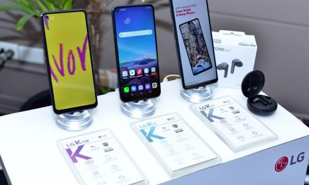LG Electronics y Alpha Cell presentan la nueva línea de celulares Serie K