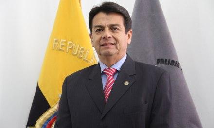 El General Patricio Pazmiño es el nuevo Ministro de Gobierno
