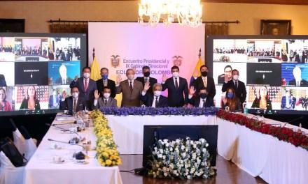 90 compromisos se acordaron en Encuentro Presidencial y IX Gabinete Binacional Ecuador – Colombia