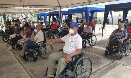 Junta de Beneficencia entregó implementos a personas con discapacidad en su Día Internacional
