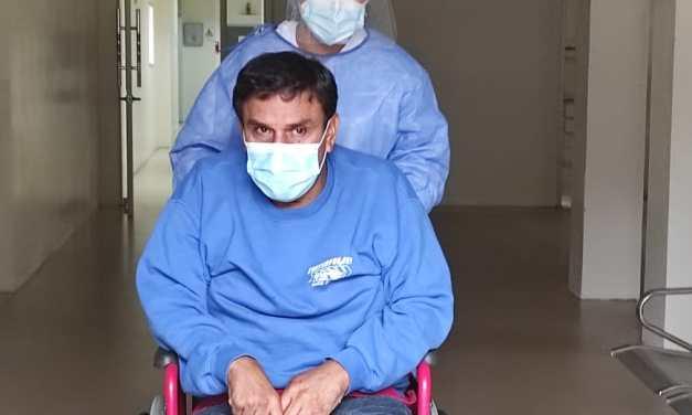El primer paciente con COVID-19 del Centro de Atención de Piñas fue dado de alta