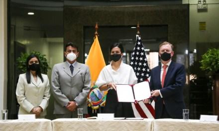 Estados Unidos y Ecuador fortalecen la inteligencia aduanera y antinarcóticos