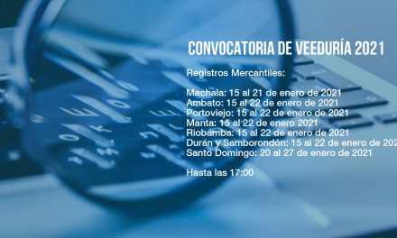 proceso de conformación de veedurías para la selección de registradores mercantiles