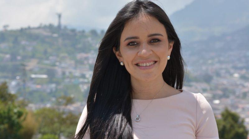 Andrea Flores, nueva gerente general del Metro de Quito