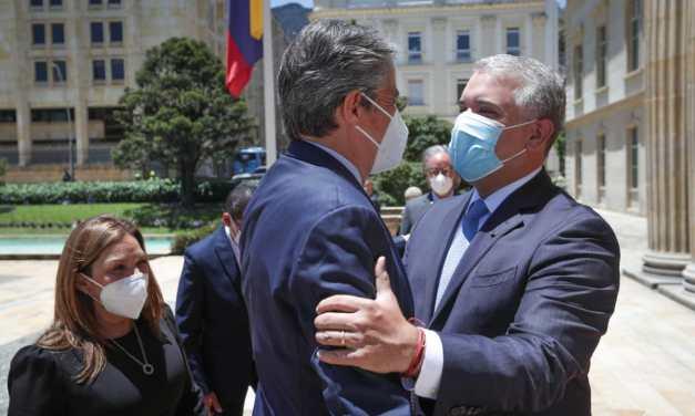 Duque y Lasso se reúnen en Bogotá para fortalecer relaciones bilaterales