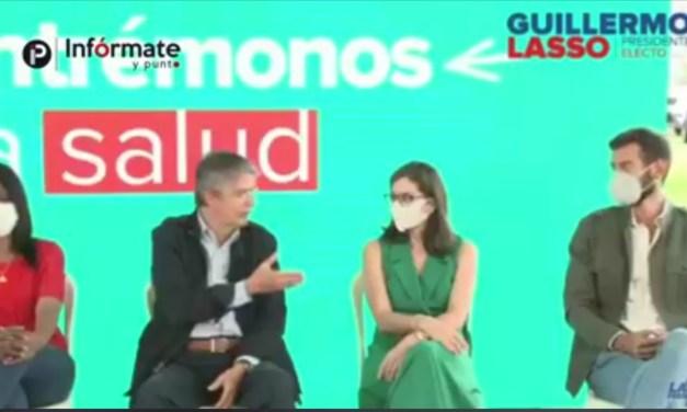 Guillermo Lasso presentó a su equipo ministerial del Frente Social