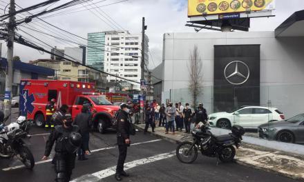 Muerte violenta en Quito. Se presume sicariato