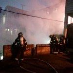 La madrugada de hoy, ocurrió un incendio estructural en el sector del Comité del Pueblo.