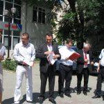Iulian Matache alaturi de colegii din PSD