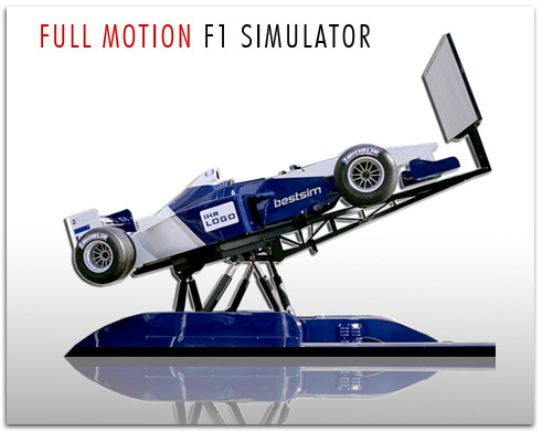 Simulator Full Motion F1