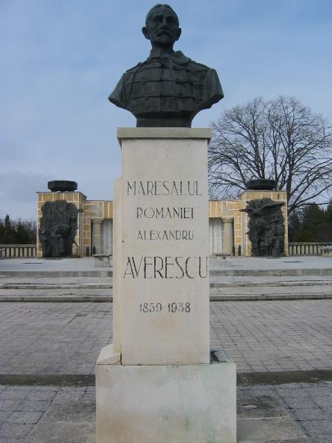Bustul generalului Alexandru Averescu