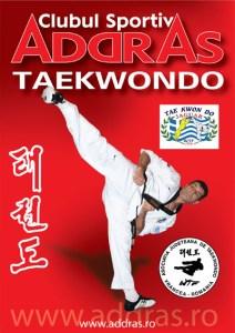 Poster Clubul focşănean ADDRAS