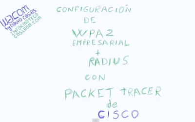 Práctica con Cisco Packet Tracer WPA2 + Radius