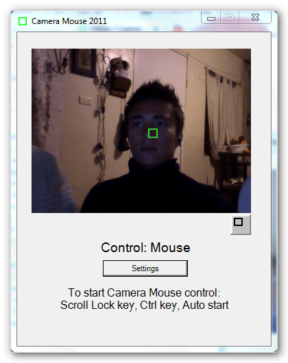 camaramouse ¡Mueve el mouse con tu cabeza!