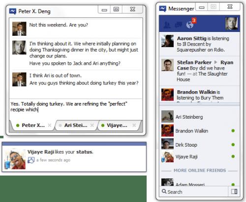facebook messenger Facebook Messenger para Windows 7