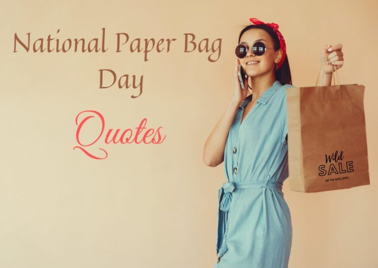 national paper bag day