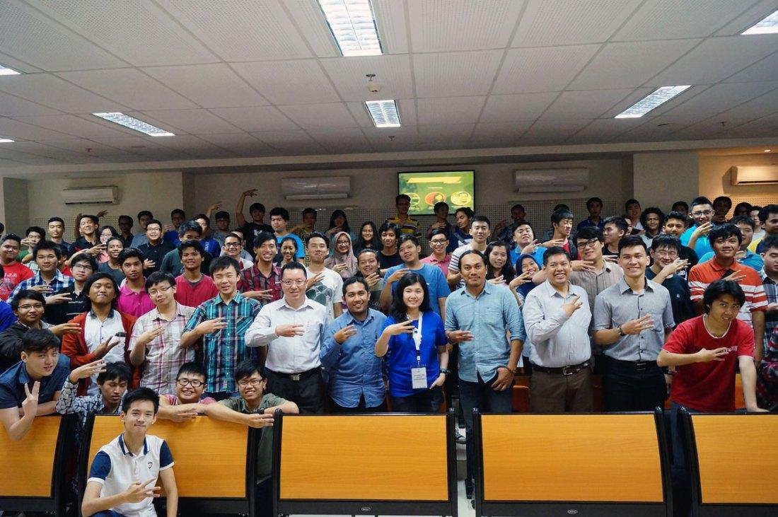 Socio-Technopreneur: Kerjabilitas, Reblood, dan Pasienia beserta seluruh Peserta