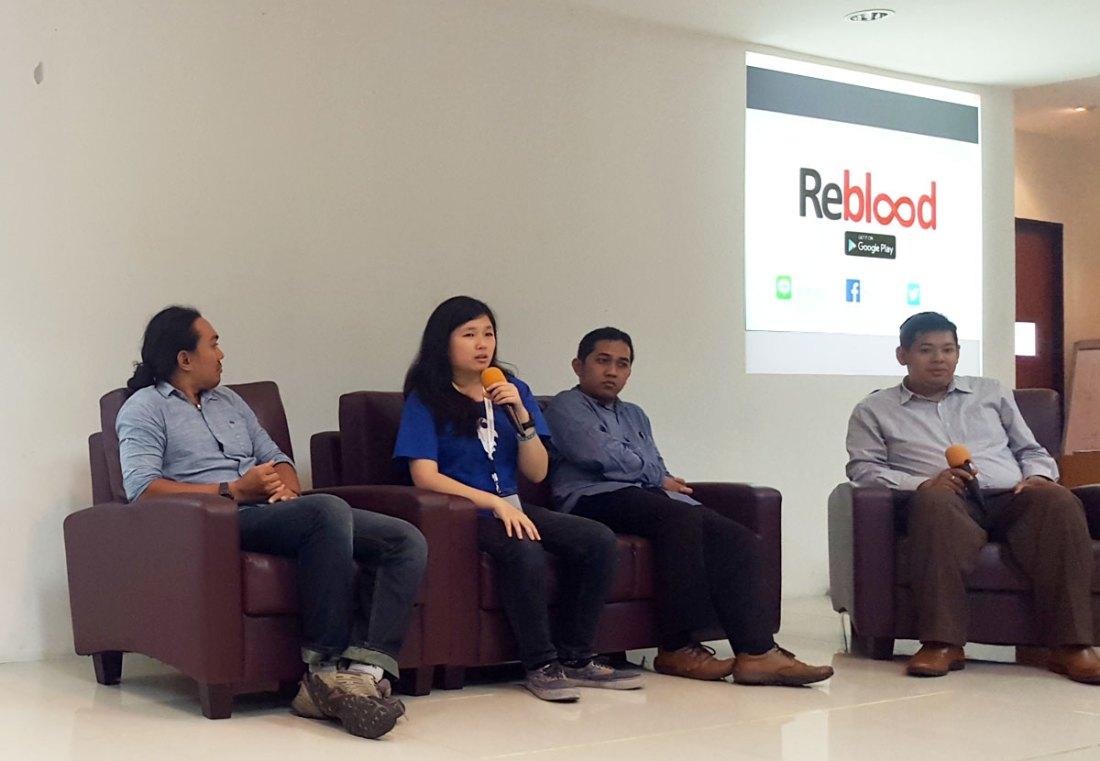 Leonika Sari, CEO Reblood, seorang Socio-Technopreneur untuk membantu masyarakat akan kebutuhan darah