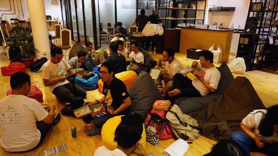Suasana Startup Weekend Surabaya