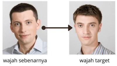 Illustrasi Deepfake