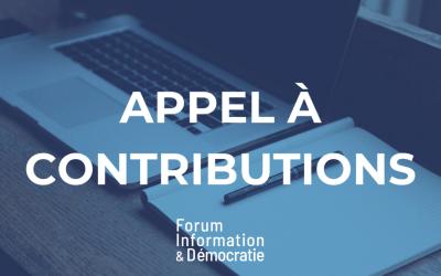 Le groupe de travail sur la soutenabilité du journalisme lance un appel à contributions mondial