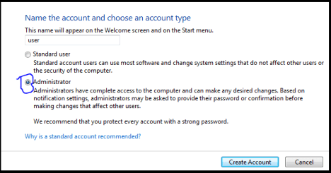 create new account on your computer and make it administrator