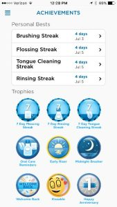 oral b bluetooth toothbrush app