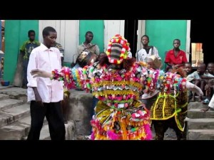A Yoruba masquerade