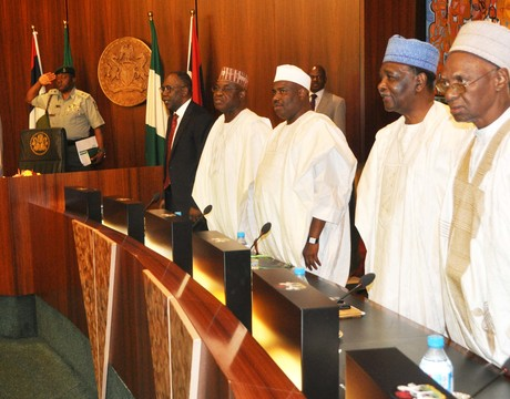 THE COUNCIL OF STATE MEETING IN ABUJA ON TUESDAY