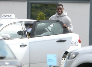 Micah Richards will have to be doing this so often. Get in the back sit!