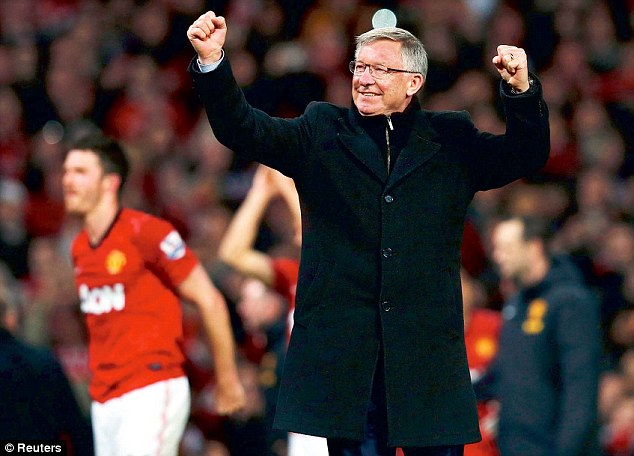 Sir Alex Ferguson Could Bow Out By Lifting the Premier League Trophy After the Swansea Game on Sunday.