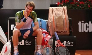 Murray Ponders His Fitness Level At the Italian Open.